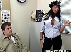 Big TITS in uniform - (Lezley Zen, Shyla Stylez, Ramon) - Security Sluts - Brazzers