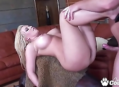 Emma Heart Squeezes A Thick Dick In Her Tight Butt