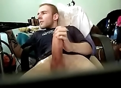 Hungarian guy has a huge cock