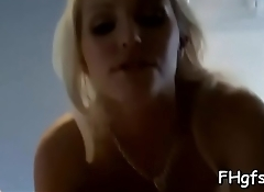Pretty girl is in the mood to get her vagina filled with cock