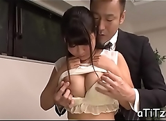 Slutty dude gives juicy cunnilingus before fucking busty asian
