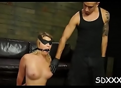 Incredible bdsm scenes with face gap and pussy fucking