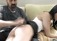 Stepdauther gets a fuck punishment