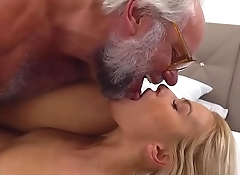 Sexy blondie provides anal rimming with sex