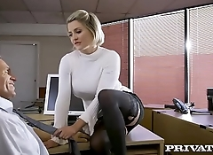 Private.com - British babe Sienna Day fucks her boss