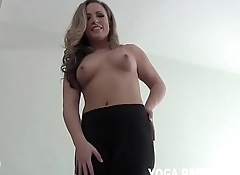 How amazing does my ass look in these new yoga pants JOI