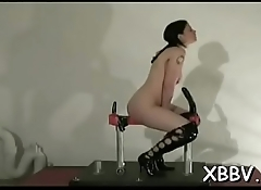 Amazing scenes of raw slavery with a sexy non-professional woman