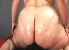 BBW I met on Bbwhooks.com oily facesitting