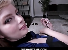 Blonde Juicy Ass Teen Step Sister Dolly Leigh Gets Stood Up On Halloween And Fucked By Step Brother POV